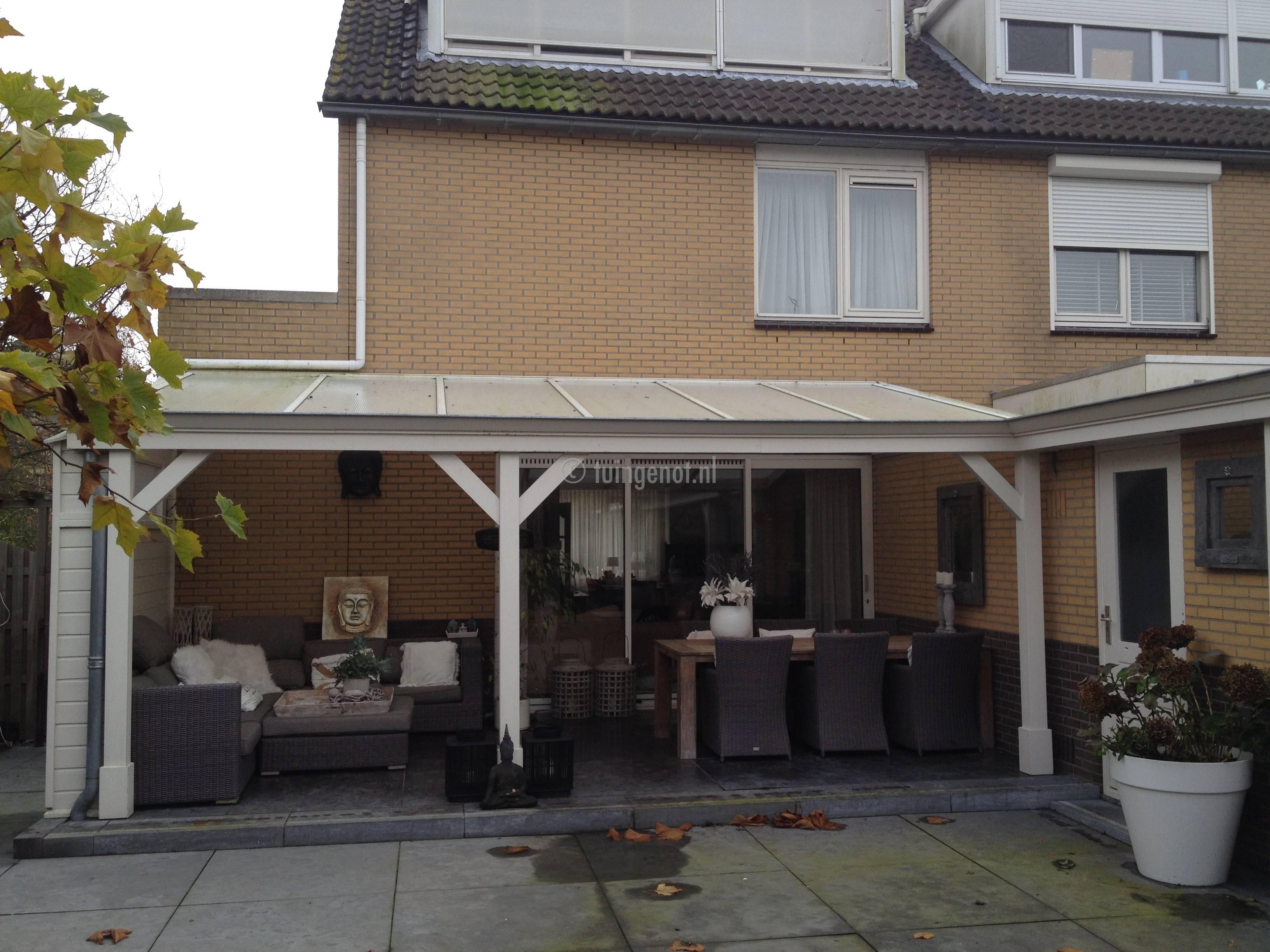 Tuingenot meer tuingenot met een overkapping serre veranda en vlonders tuingenot maakt unieke - Een terras aan het plannen ...