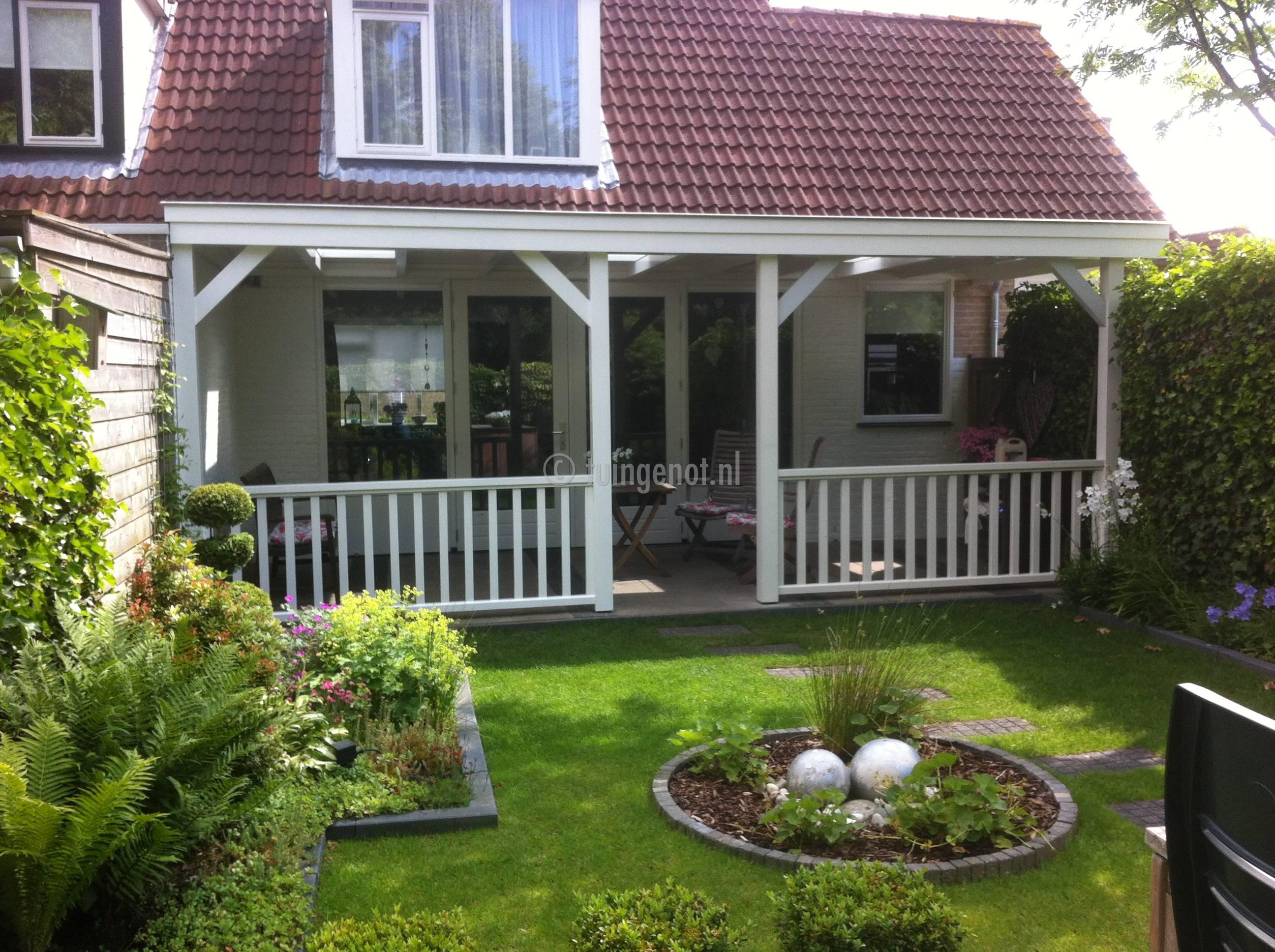 Tuingenot veranda met hekwerk - Veranda ou uitbreiding ...