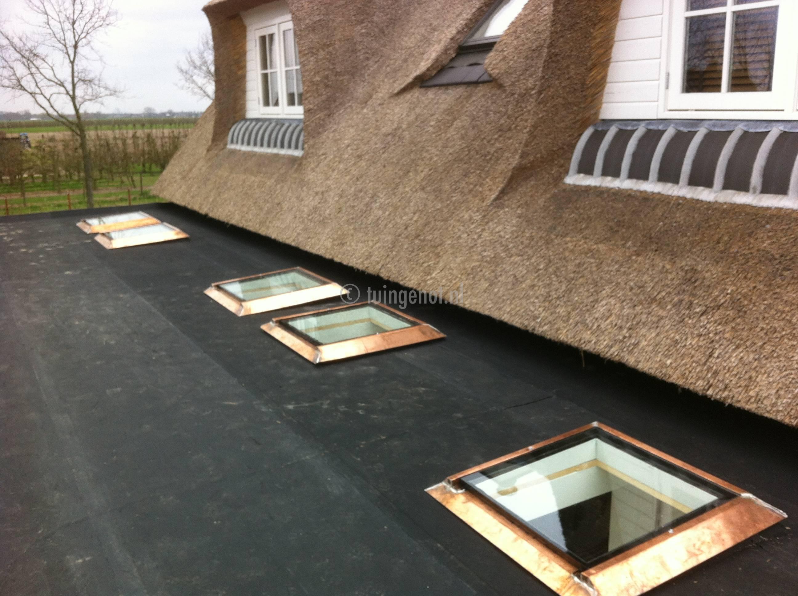 Tuingenot 60 een megagrote luxe hardhouten veranda - Veranda met dakraam ...