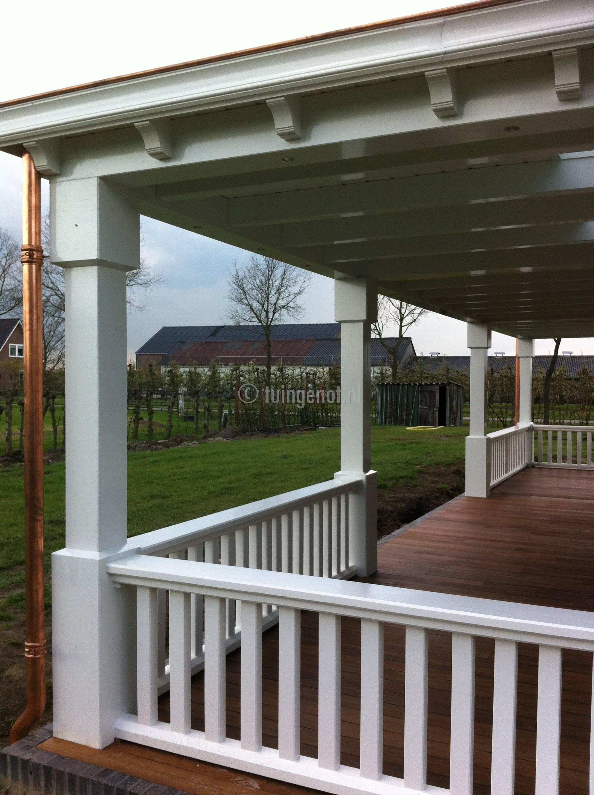 tuingenot 60 een megagrote luxe hardhouten veranda. Black Bedroom Furniture Sets. Home Design Ideas