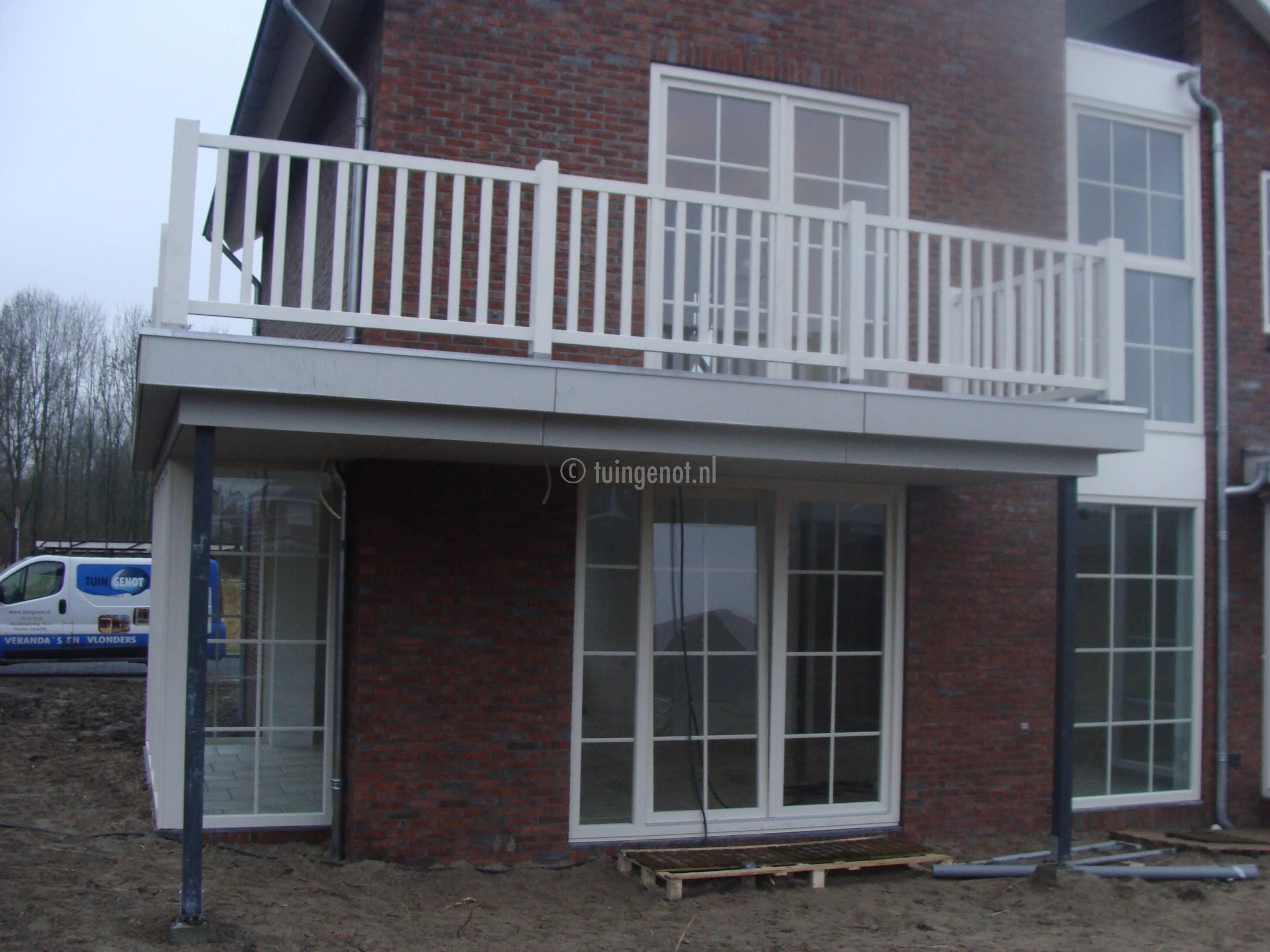 Tuingenot 104 balustrades voor een balkon - Balkon veranda ...